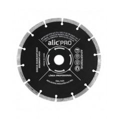Disco Diamantado Segmentado 180Mm Corte Seco Alic Profesional