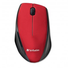MOUSE VERBATIM MULTI TRAC INALAMBRICO COLOR ROJO