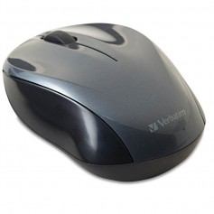 MOUSE VERBATIM GO NANO INALAMBRICO COLOR GRIS