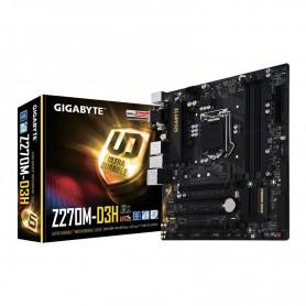 MOTHER GIGABYTE Z270M-D3H INTEL SOCKET 1151 USB 3.1 DDR4 3866 HDMI DVI VGA