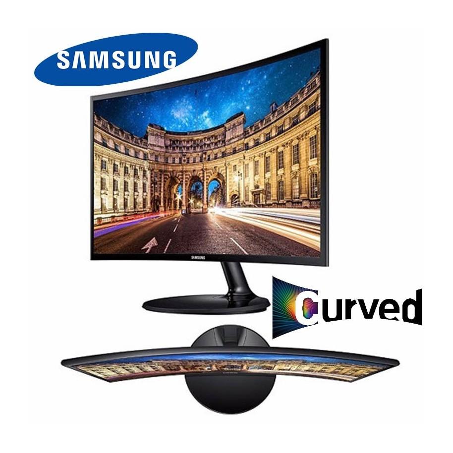 """MONITOR CURVO SAMSUNG 24"""" FULL HD 1920 X 1080 HDMI VGA"""