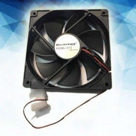 COOLER VENTILADOR 120X120X25 4P QUANTEX Q12 120MM CONECTOR MOLEX