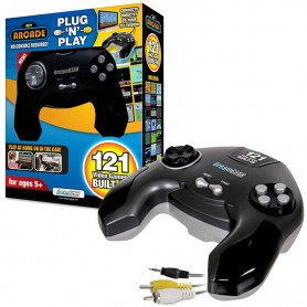 JOYSTICK MY ARCADE PLUG N PLAY 121 EN 1 VIDEO JUEGOS 8BIT 220V Y PILAS SALIDA TV