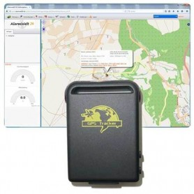 Gps Tracker Localizador Rastreador Espia Gsm Sms Tr 102 Bateria Recargable