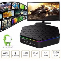 Smart Tv Box Premium T95Z Plus 4K Octa Core 3Gb Ram 32Gb Android 6 Bluetooth Netflix