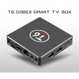 SMART TV BOX T6 S905X 4K QUAD CORE 2GB RAM 16GB ANDROID 7.1 NETFLIX