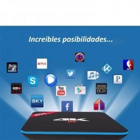 SMART TV BOX PREMIUM H96PRO+ 4K OCTA CORE 3GB RAM 32GB ANDROID 6 NETFLIX