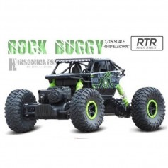 AUTO MONSTER ROCK CRAWLER ESCALA 1:18 CAR RC RADIO CONTROL ELECTRICO