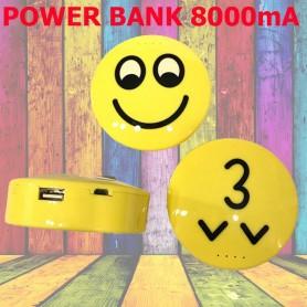 CARGADOR PORTATIL POWER BANK 8000mAh CARITAS