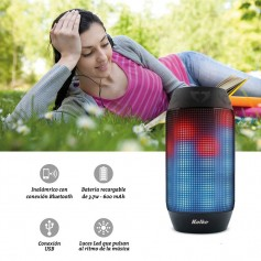 Parlante Bluetooth Portatil Kolke Kp-125 Sound Rainbow