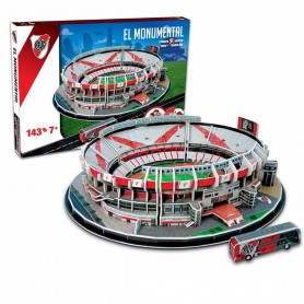ESTADIO RIVER EL MONUMENTAL CANCHA 3D PARA ARMAR