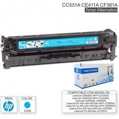 Toner Alternativo Hp 305A Ce411A Ce411 Cyan Pro 400 Color M451Dn M451Dw M451Nw M475Dw M475Dn Laserjet 300 Color Mfp M375Nw