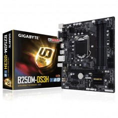 MOTHER GIGABYTE B250M-DS3H DDR4 SOCKET 1151 INTEL USB 3.1 PCI EXPRESS MICRO ATX
