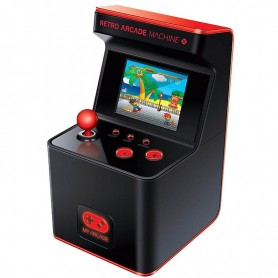 MINI CONSOLA RETRO ARCADE MACHINE 300 JUEGOS MY ARCADE PILAS
