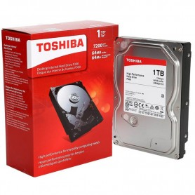 DISCO RIGIDO TOSHIBA 1TB SATA III 6.0Gb/s 7200RPM BOX