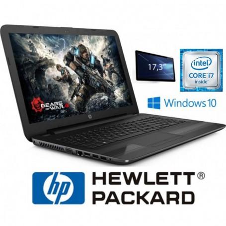 """NOTEBOOK HP 17.3"""" 17X173DX I7 7500U 2.7GHZ 8GB DDR4 1TB DVD"""