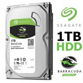 DISCO RIGIDO 1TB SEAGATE BARRACUDA 64mb CACHE SATA III 6.0GB/S