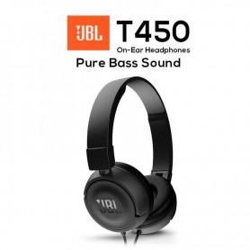 Auricular Jbl T450 Pure Bass Negro
