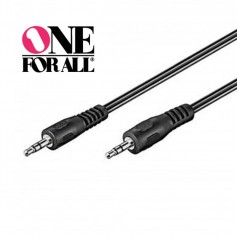 CABLE MINIPLUS 3.5MM A MINIPLUS 3.5MM 1MTS ONE FOR ALL