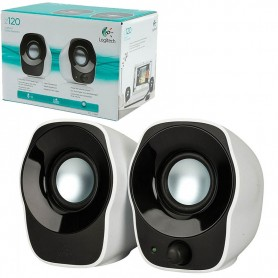 PARLANTE LOGITECH Z120 2.0 SPEAKERS STEREO USB 3.5mm 1.2W USB