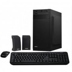 GABINETE PC KIT KELYX KY-118A + TECLADO + MOUSE + PARLANTES + FUENTE 500W