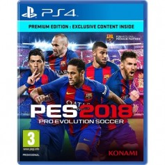 JUEGO PS4 PES 2018 PRO EVOLUTION SOCCER PLAY STATION 4