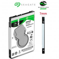 DISCO RIGIDO NOTEBOOK 500GB SEAGATE BARRACUDA SATA 3 3.7MM
