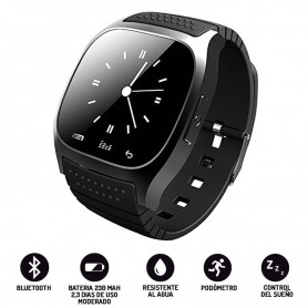RELOJ SMARWATCH M26 INTELIGENTE ANDROID BLUETOOTH PODOMETRO