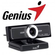 WEBCAM GENIUS FACECAM F100 MICROFONO FULL HD 1080 CONFERENCIA