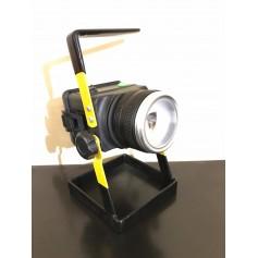 LAMPARA REFLECTOR LINTERNA LED 30W PORTÁTIL RECARGABLE CAMPING