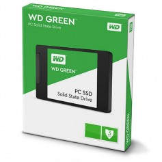 DISCO RIGIDO SOLIDO 120GB WD GREEN SSD SATA 3 NOTEBOOK Y PC