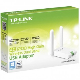 PLACA RED USB 3.0 WIRELESS DUAL BAND 2 ANTENAS TP-LINK ARCHER T4UH