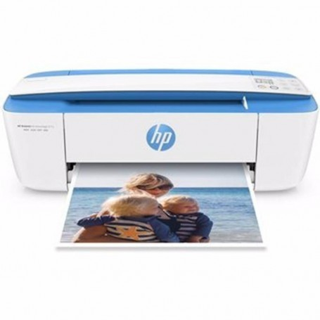IMPRESORA HP MULTIFUNCION DESKJET INK ADVANTAGE 3775 AZUL Y BLANCA