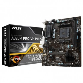 MOTHER MSI A320M PRO-VH PLUS AM4 RYZEN DDR4 HDMI USB 3.1