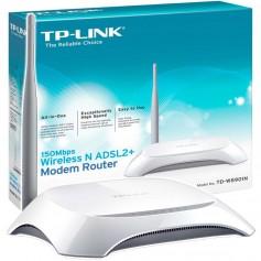 MODEM ROUTER WIFI TP-LINK TD-W8901N ADSL 150Mbps ANTENA FIJA
