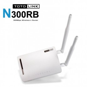 ROUTER TOTO LINK N300RB 300Mbps 2 ANTENAS REPETIDOR