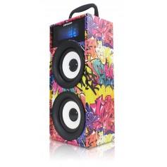 PARLANTE MULTIMEDIA PANACOM SP-3014 BLUETOOTH SD USB MP3 3W X2