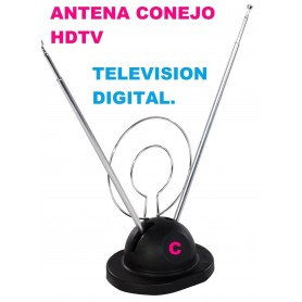 ANTENA PARA INTERIOR DE TV VHF Y UHF