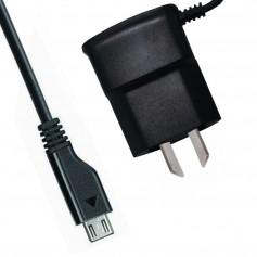 CARGADOR CELULAR 1AMP VIAJERO 220V A MICRO USB SAMSUNG GALAXY PATAS ARGENTINAS