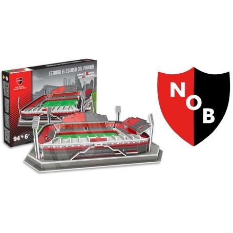 Estadio De Newells Old Boys Cancha 3d Para Armar Maqueta