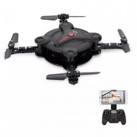 MINI DRONE POCKET CUADRICOPTERO PLEGABLE JD92 – TRANSMITE EN VIVO FUNDA