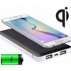 CARGADOR POWER BANK 10000MAH CARGADOR QI CARGA INALAMBRICA