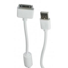 CABLE USB PARA IPAD 1 O 2 IPHONE 3 Y 4 1.5Mts
