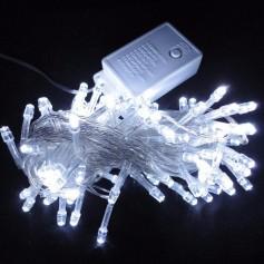 LUCES NAVIDAD LED X 100 BLANCAS
