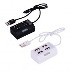 HUB USB 2.0 4 PUERTOS CQT-H012 NEGRO