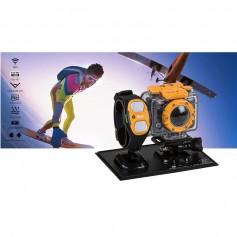 CAMARA DE DEPORTES HP AC200W CON RELOJ FULLHD 1080P 5MP 60M SUMERGIBLE