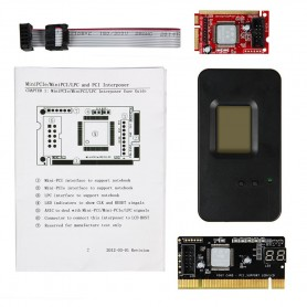 TESTER PLACA POST DE TESTEO MINI PCI-E 5 EN 1 PARA NET/NOTEBOOK EB