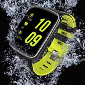 RELOJ SUMERGIBLE 3TMS HEARTRATE NOTIFICACIONES WHATSAPP PODOMETRO GV68