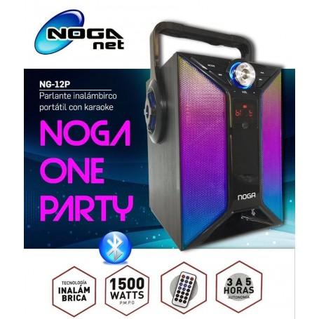 PARLANTE MULTIMEDIA NOGA NG-12P BLUETOOTH MICROSD USB RADIO FM
