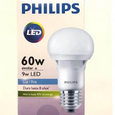LAMPARA LED PHILLIPS 9W LUZ DIA